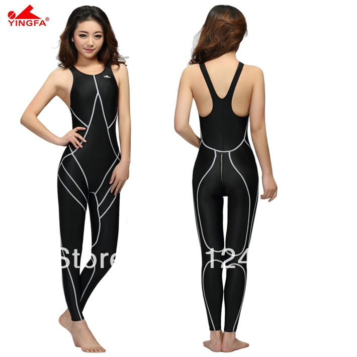 b660dcce73 Hot sale! yingfa waterproof women spandex bodysuit swimming full body suit  for women lycra body suits men