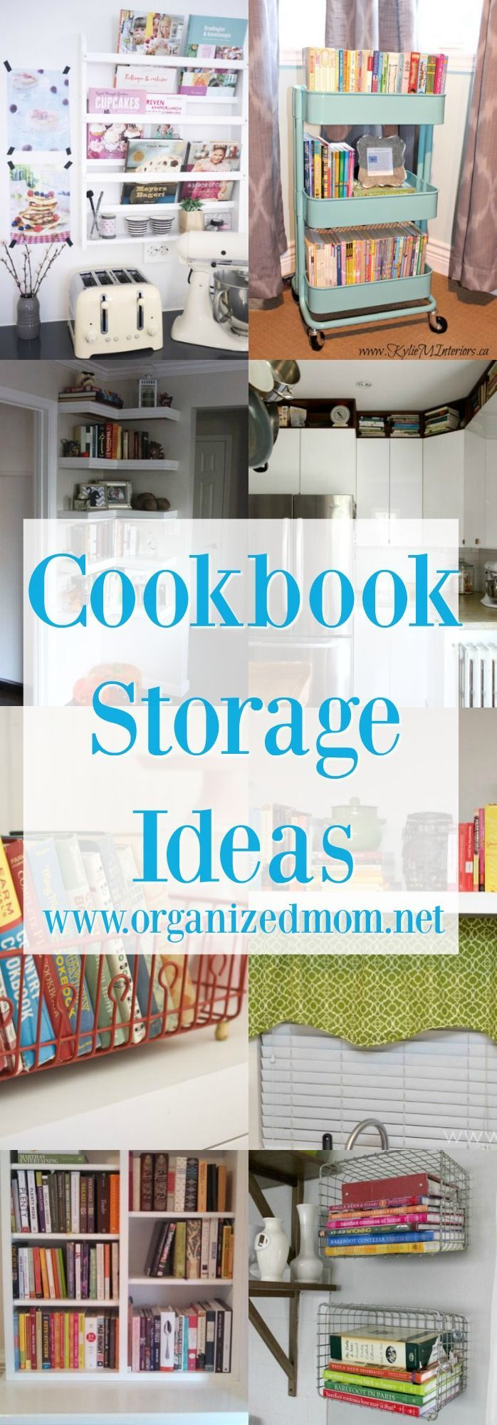 10 New Ideas for Storing Cookbooks | Homesteading | Pinterest ...