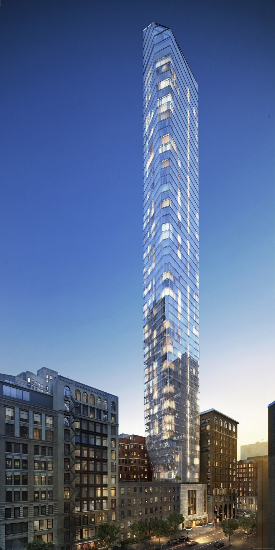 45 East 22nd St Tower New York City By Kohn Pedersen Fox