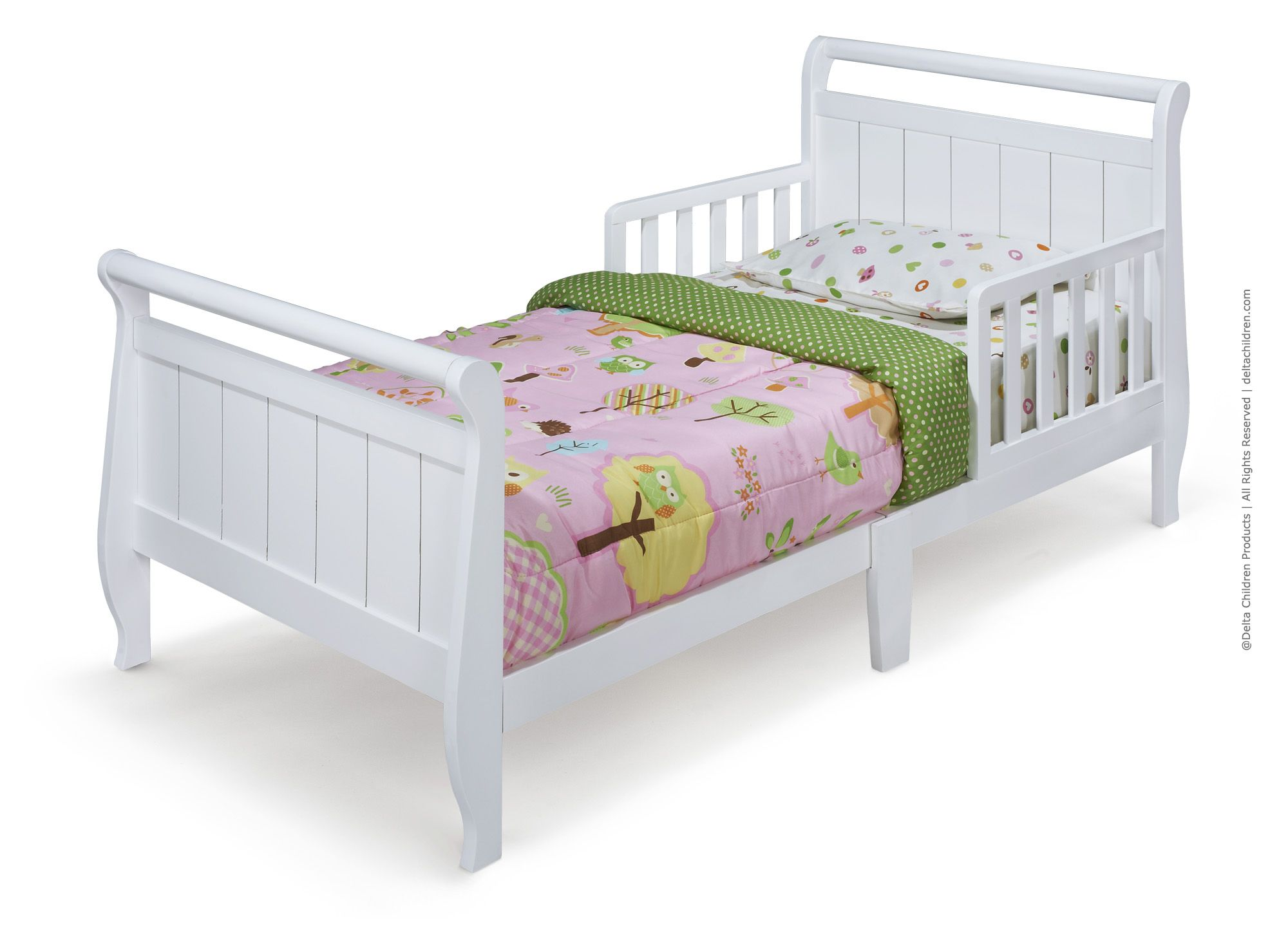 Wooden Toddler Beds Toddler Collection By Delta Children Wooden