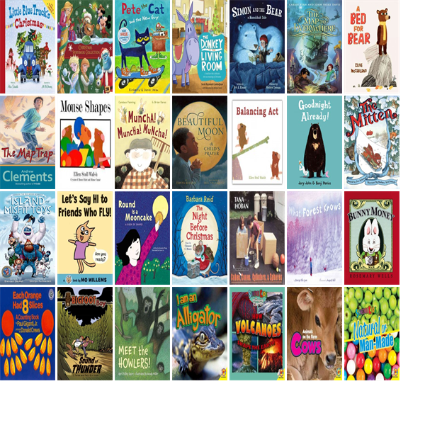 """Wednesday, December 3, 2014: The Hudson Public Library has 34 new children's books in the Children's Books section.   The new titles this week include """"Little Blue Truck's Christmas,"""" """"Disney Christmas Storybook Collection,"""" and """"Pete the Cat and the New Guy."""""""