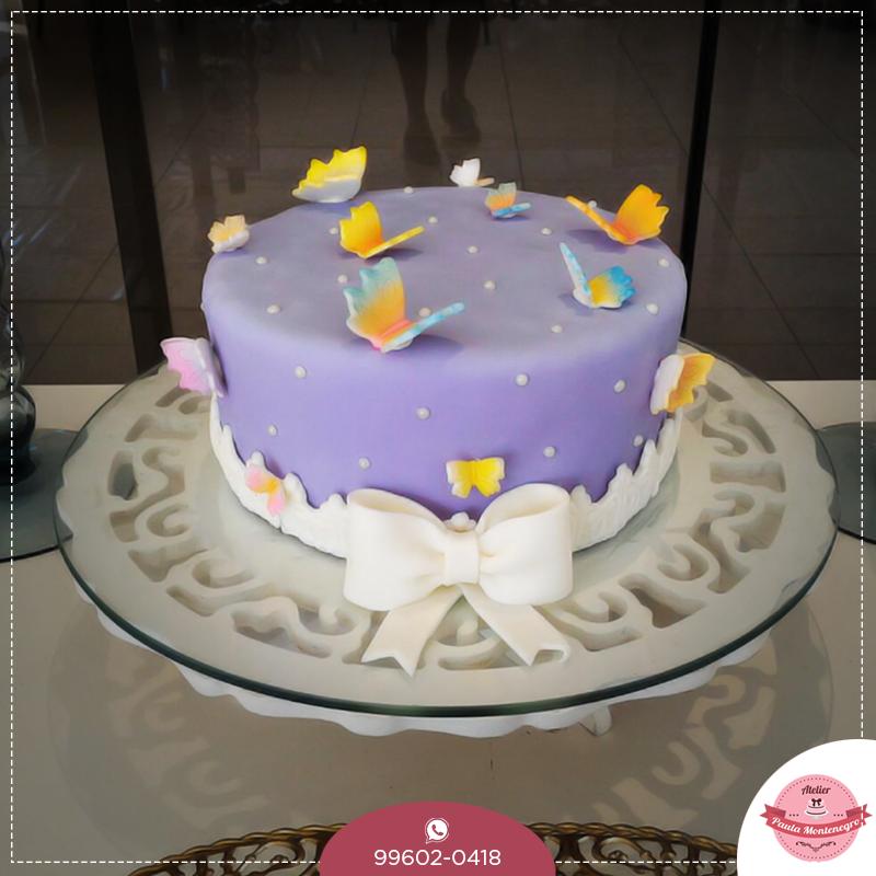 Ficamos muito felizes por nossos clientes! Este foi em homenagem a Dona Lurdes. #atelierpaulamontenegro #cakedesigner #bolo #festas