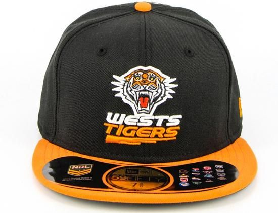 NRL x NEW ERA 「Wests Tigers」59Fifty Fitted Baseball Cap ... cbae4754813