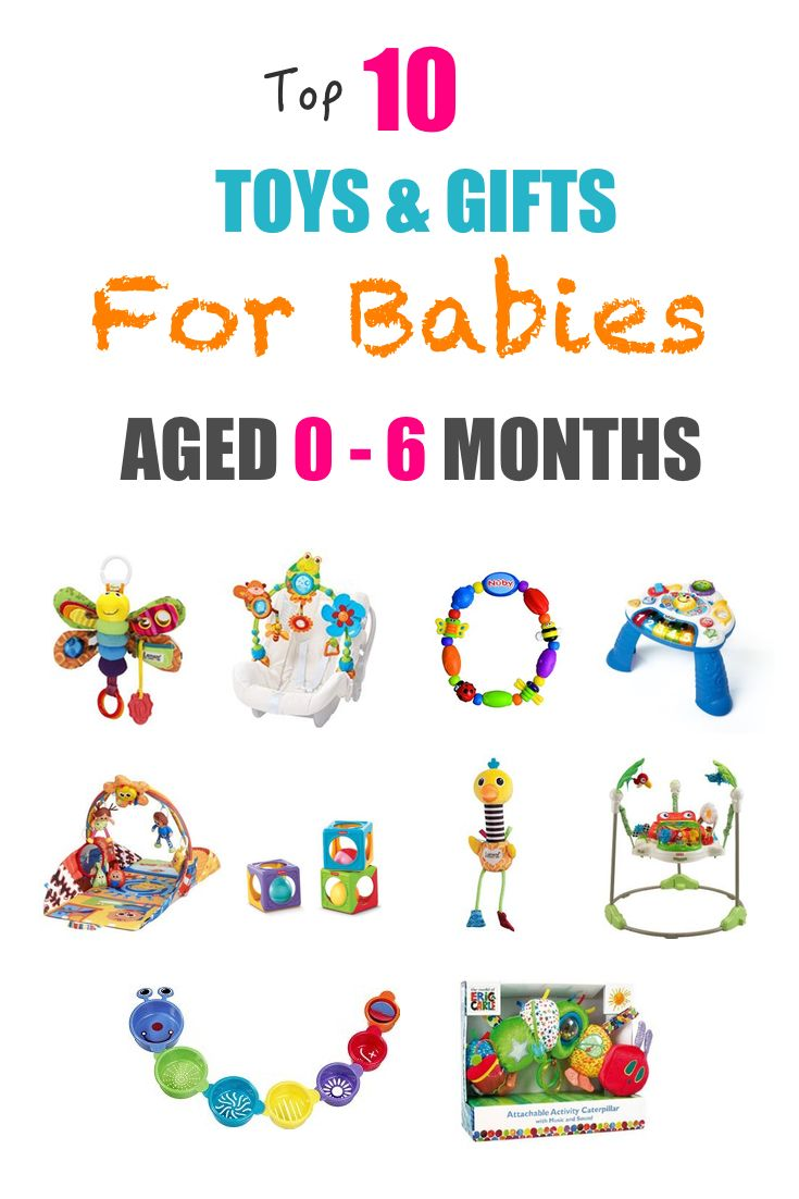 Brilliant age appropriate toys for 0-6 month old babies ...