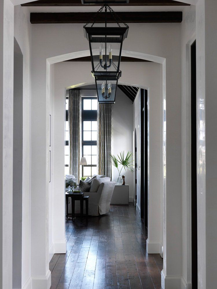 Greige interior design ideas and inspiration for the for Interior designs for hallways