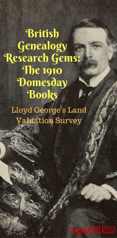 British genealogy gems the 1910 domesday books