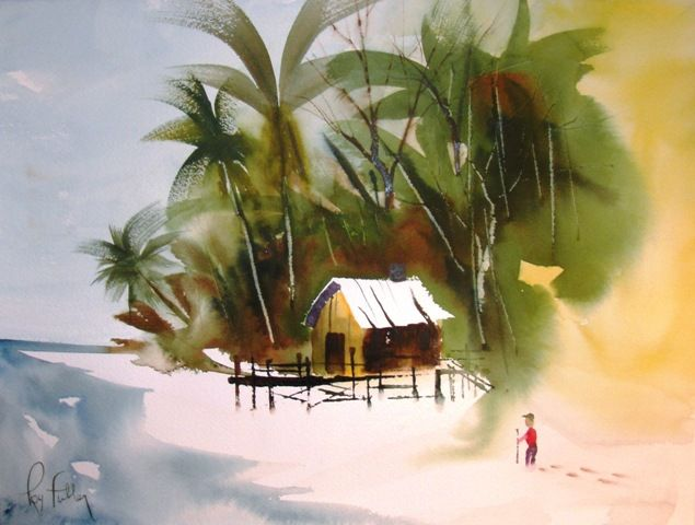 Florida Watercolor Artists Roy Fuller Watercolor Artists