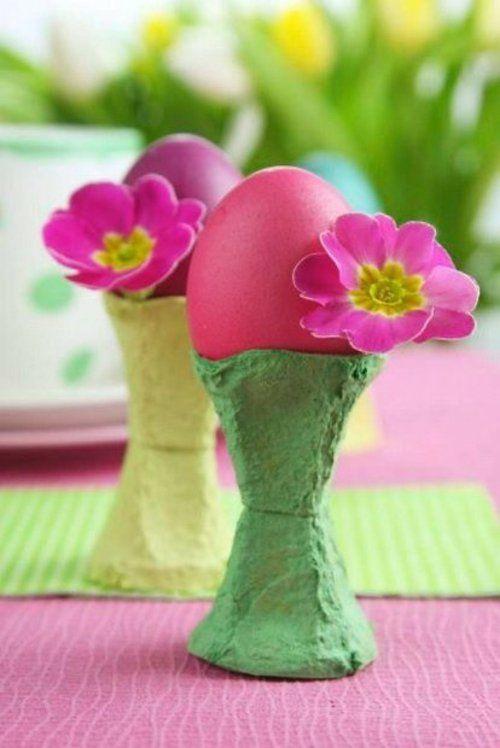 osterdeko in rosa und lila basteln 60 ideen f r sie deko. Black Bedroom Furniture Sets. Home Design Ideas
