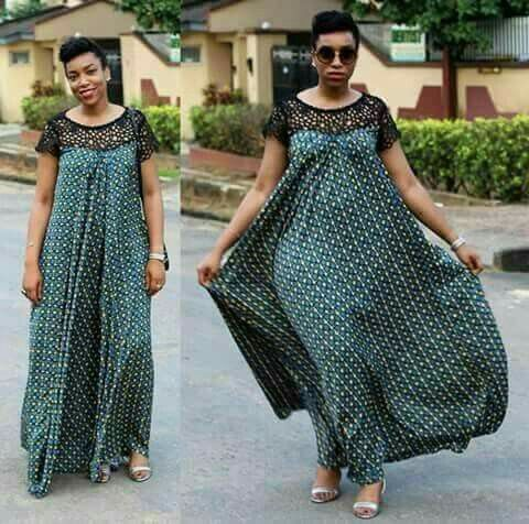 African dress style for work