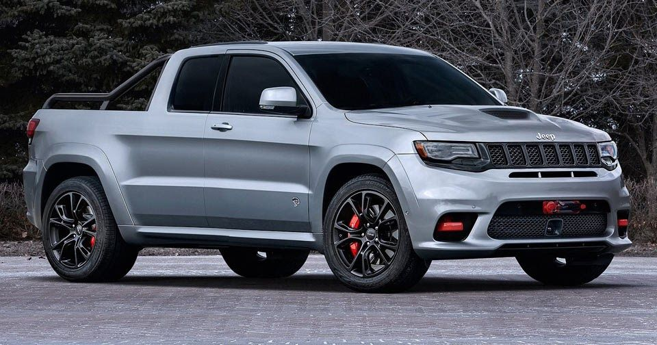 Jeep Grand Cherokee Srt Hellcat Pickup Could Be The Ultimate