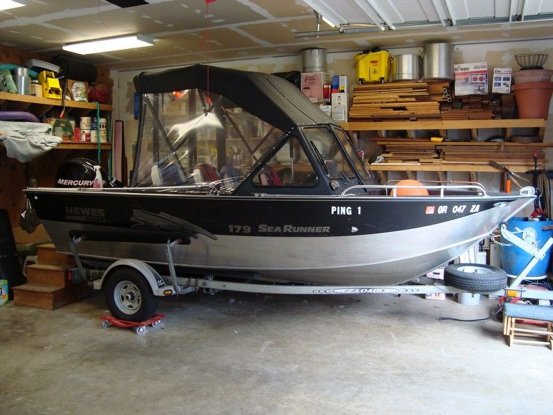 1999 Hewescraft 17 Searunner Aluminum, $ 17,900 00 | Boats (Bow