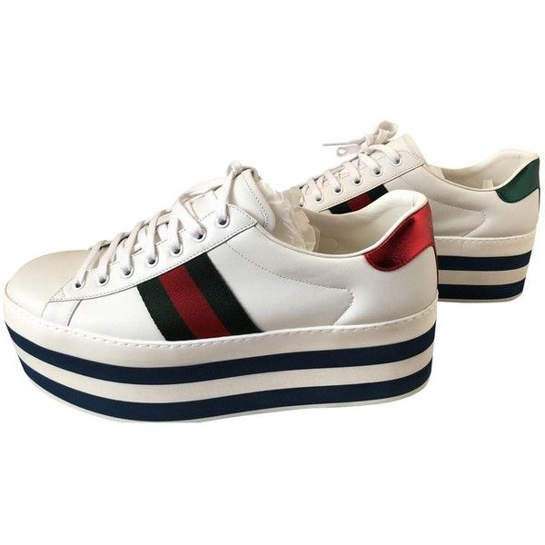 Pre-owned - High trainers Gucci 0a7seuio