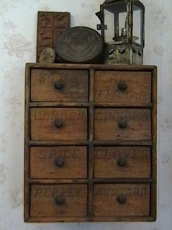 Marvelous Early 1900u0027s Hanging Spice Cabinet | Collectors Weekly