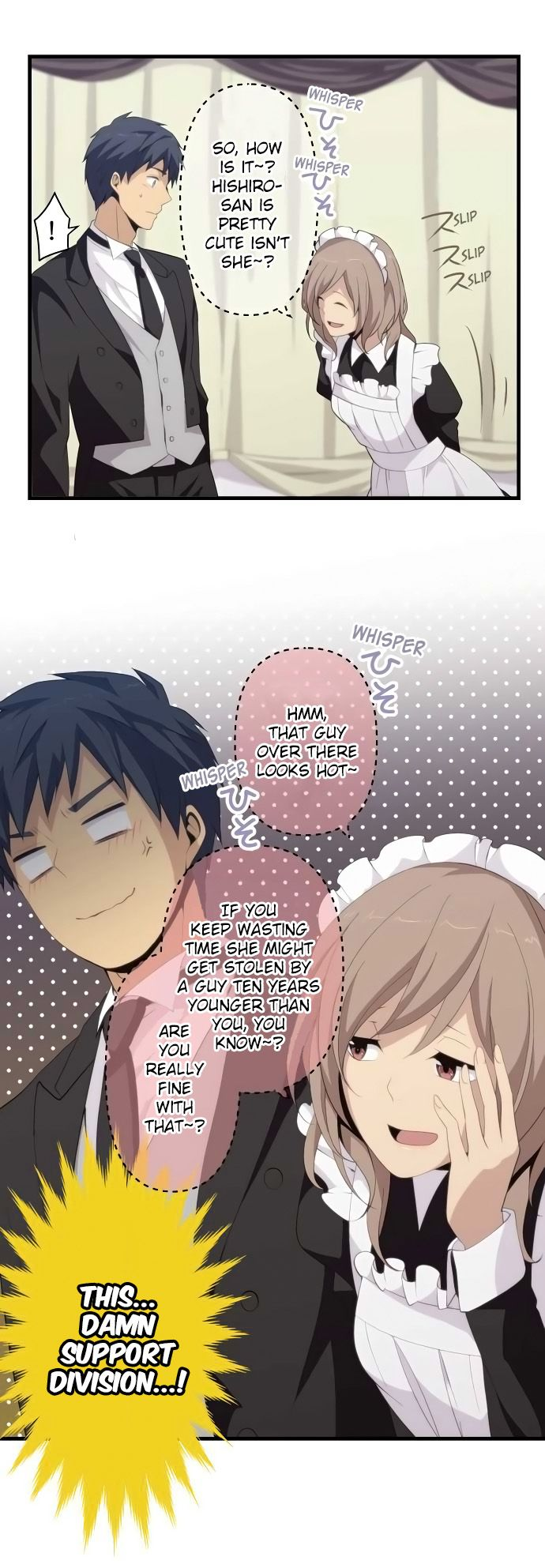 Read manga ReLIFE Ch.144 report144. Visible Smoke online