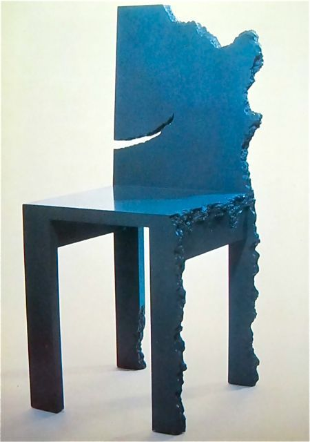 Nothing Continues To Happen Chair Howard Meister New