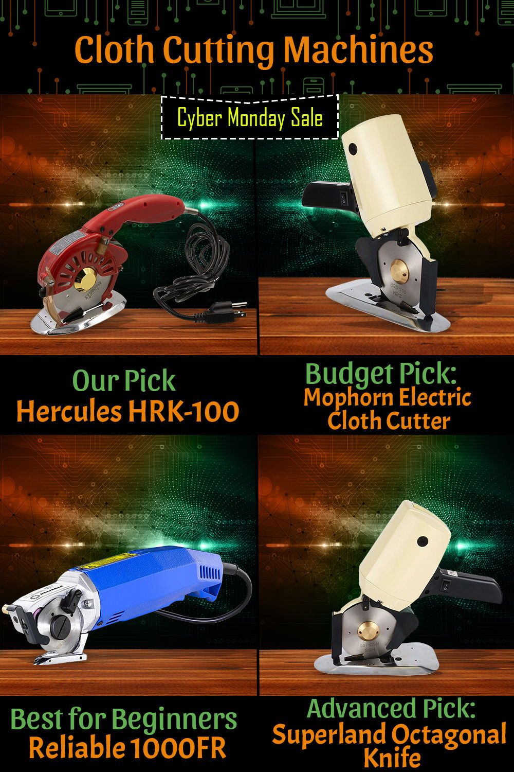 Best Cyber Monday Deals 2019 Clothes Top 10 Cloth Cutting Machines (May 2019): Reviews & Buyers Guide