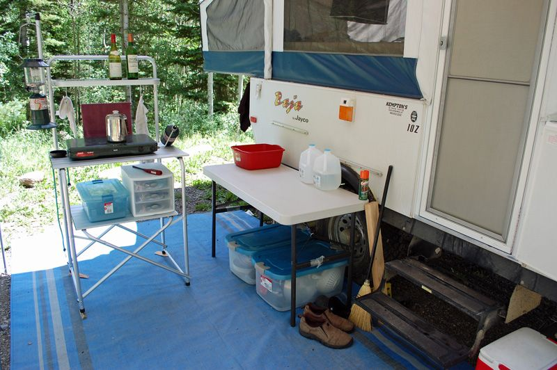 Rv Storage Ideas Outdoor Cooking Or Camp Kitchen