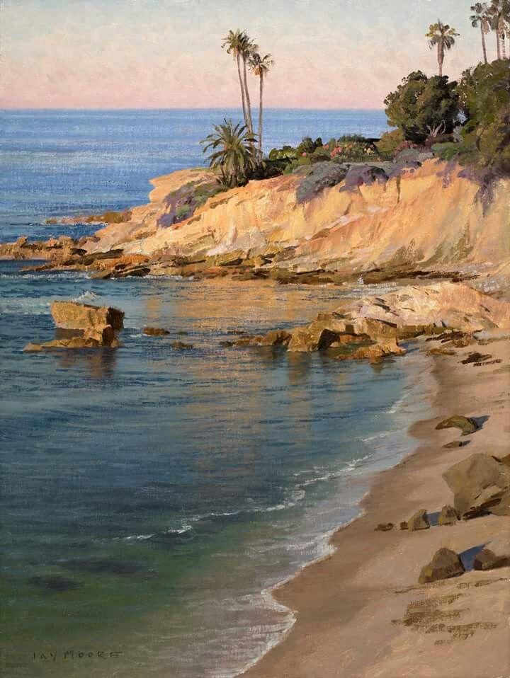 Family Camping Hacks Scenery Paintings Seascape Paintings Ocean Painting