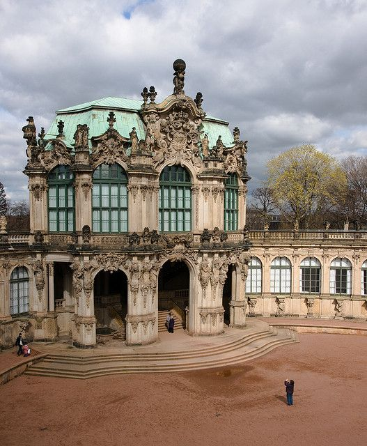 Zwinger Wallpavillon Architecture Old Beautiful Architecture Architecture