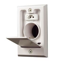 Central Vacuum Wall Plate Captivating Ci358W Inlets Accessories Central Vacuum Systems  Nutone Design Inspiration