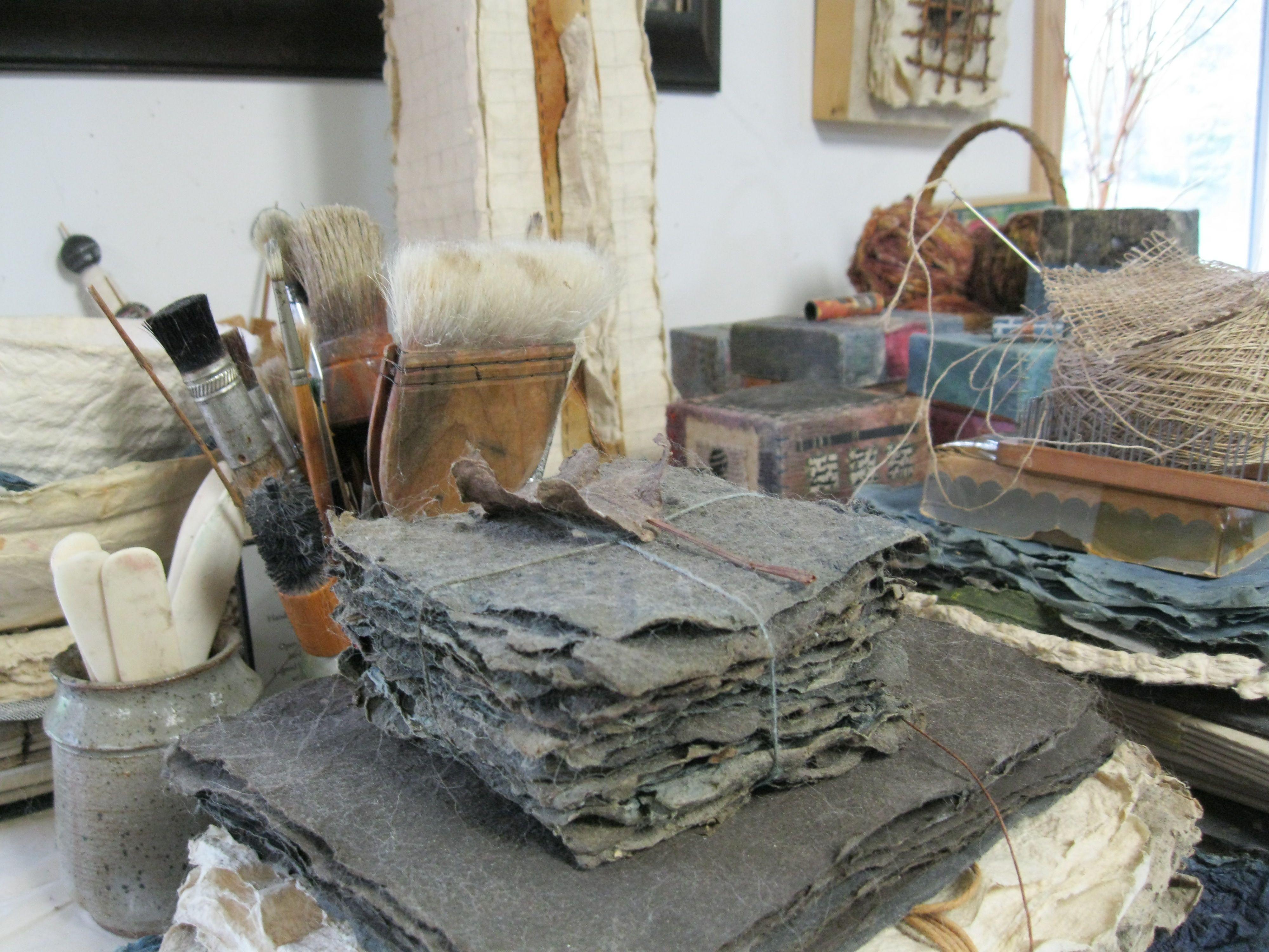 the finishing studio at Liberty Paper
