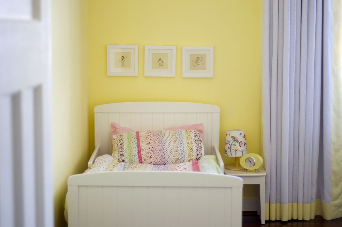 yellow girls room - Google Search | New House Colors | Pinterest ...
