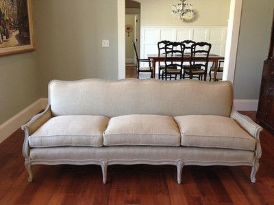Updating A Vintage French Sofa French Sofa French Vintage Sofa Sofa