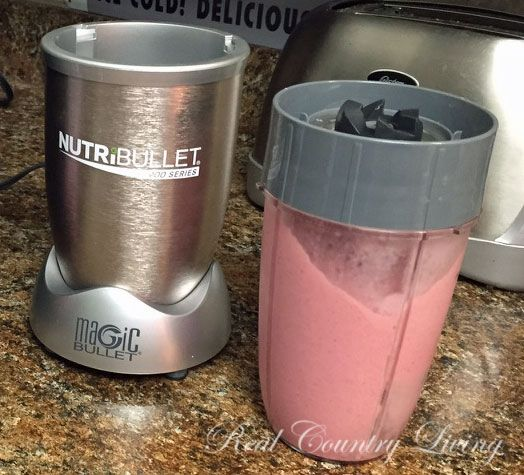 I did it...I've been wanting a NutriBullet for several years...and I finally gave in to my desires and bought the NutriBullet 900 Series.