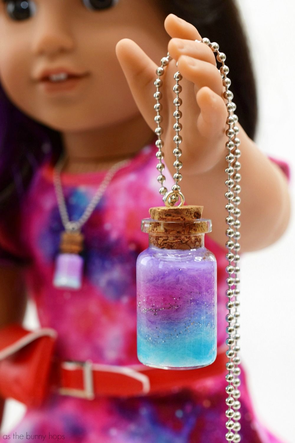 American Girl's Luciana Vega-Inspired Doll and Me Nebula Pendants - As The Bunny Hops