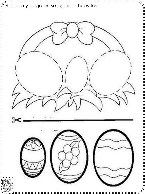 Pin De Linka 91 En Ksztalty Shapes En 2020 Arte De Pascua Manualidades De Pascua Para Ninos Actividades De Pascua
