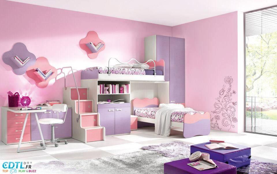Décoration chambre enfant fille Idées Anna Rose chambre