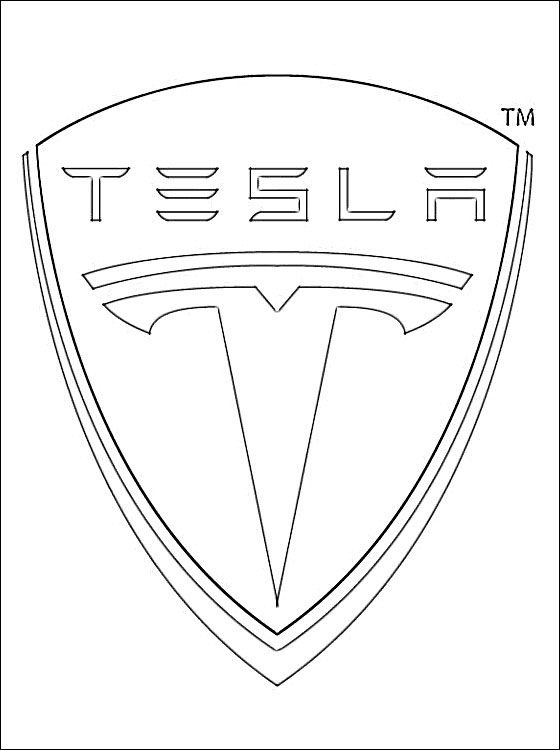 Image Result For Tesla Model S Coloring Pages Carded Pinterest