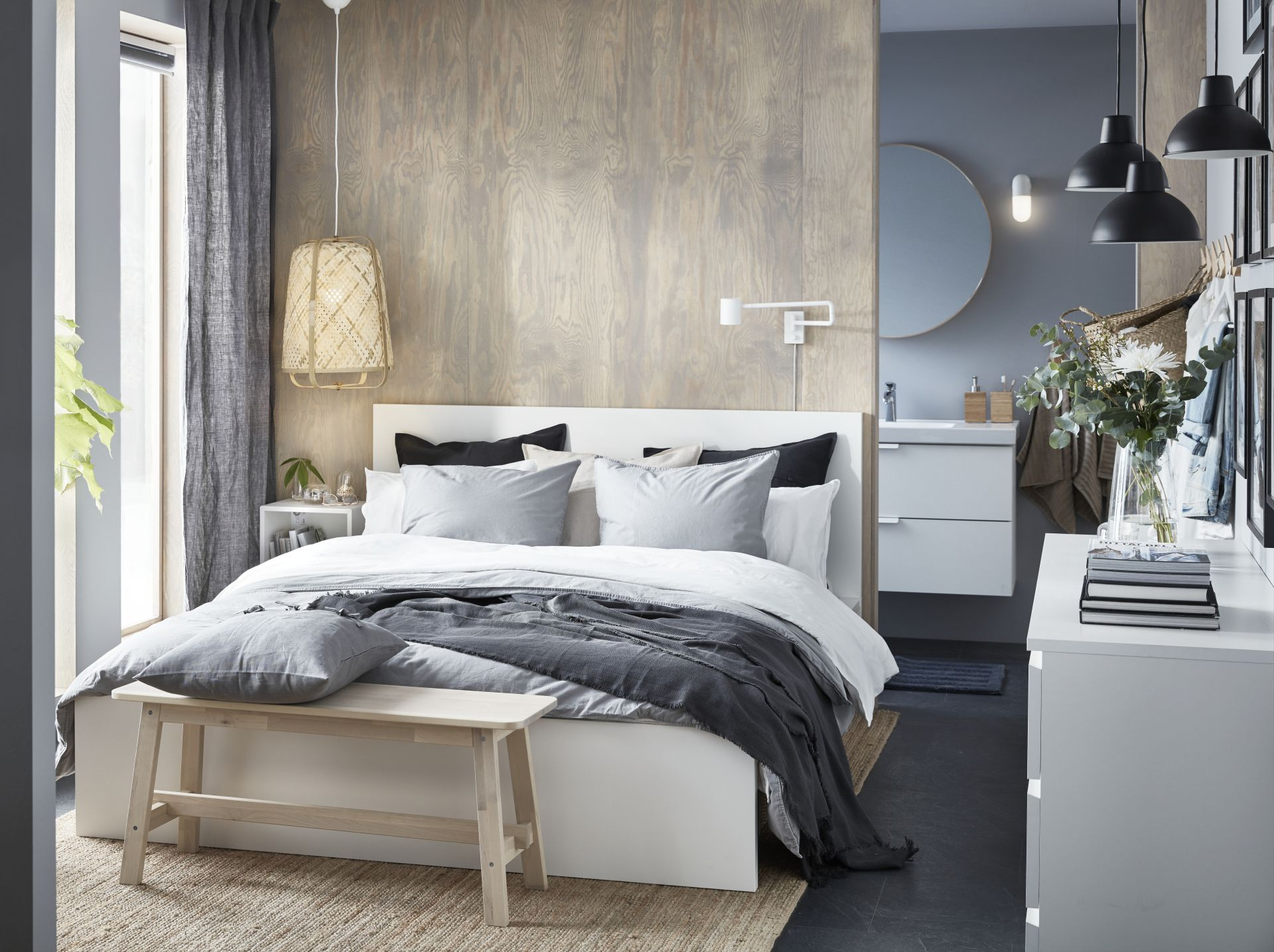 Skurup Pendant Lamp Black Ikea Switzerland Stylish Bedroom