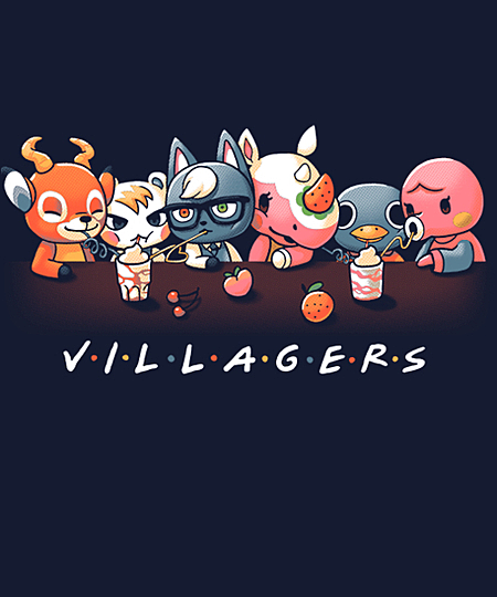 Villagers from Qwertee   Day of the Shirt