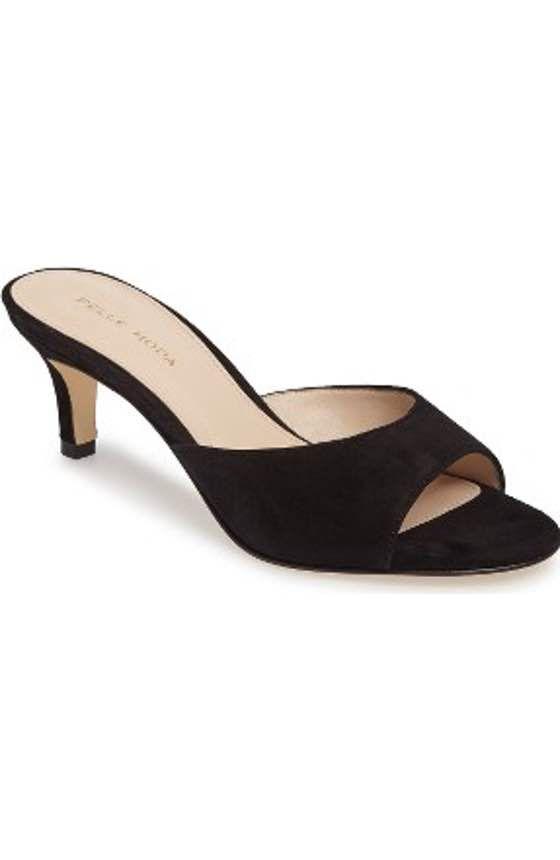 Pelle Moda Bex Kitten Heel Slide Sandal Women Kitten Heels Womens Sandals Heels