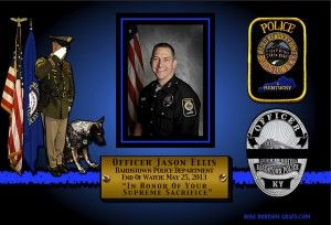 In Memoriam Officer Jason Ellis Police Wife Life Jason Ellis Fallen Heroes