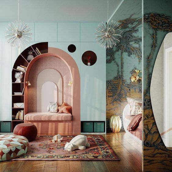 Fairytale Bedroom For Kids #bedroominspirations