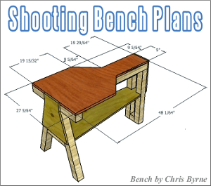 Free Shooting Bench Plans Fourteen Do It Yourself Designs In 2020 Shooting Bench Plans Shooting Bench Bench Plans
