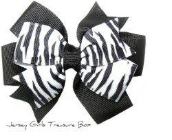 Zebra Double Layer Bow