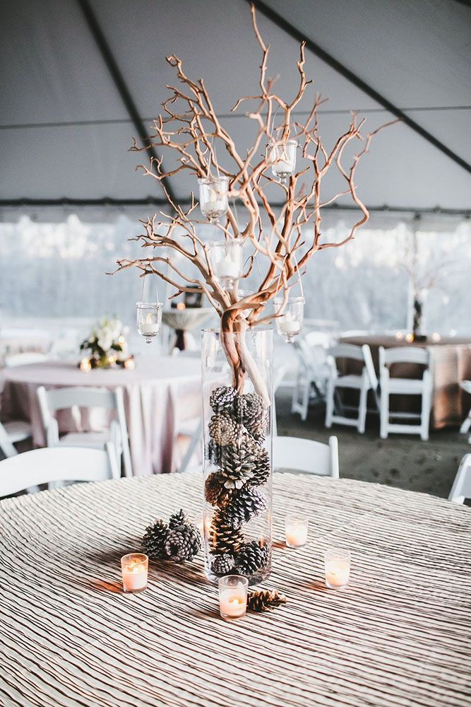 36 Stunning Non Floral Wedding Centerpieces Ideas Wedding