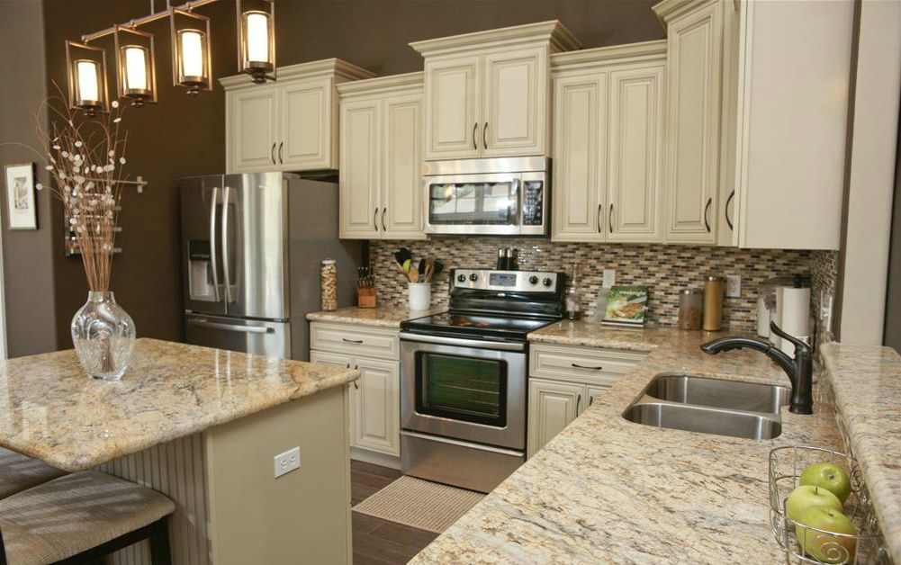 Best Beautiful Kitchen Cabinets And Granite Countertops Love 640 x 480
