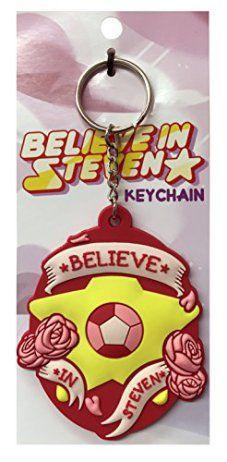 Believe-in-Steven-Rubber-Keychain