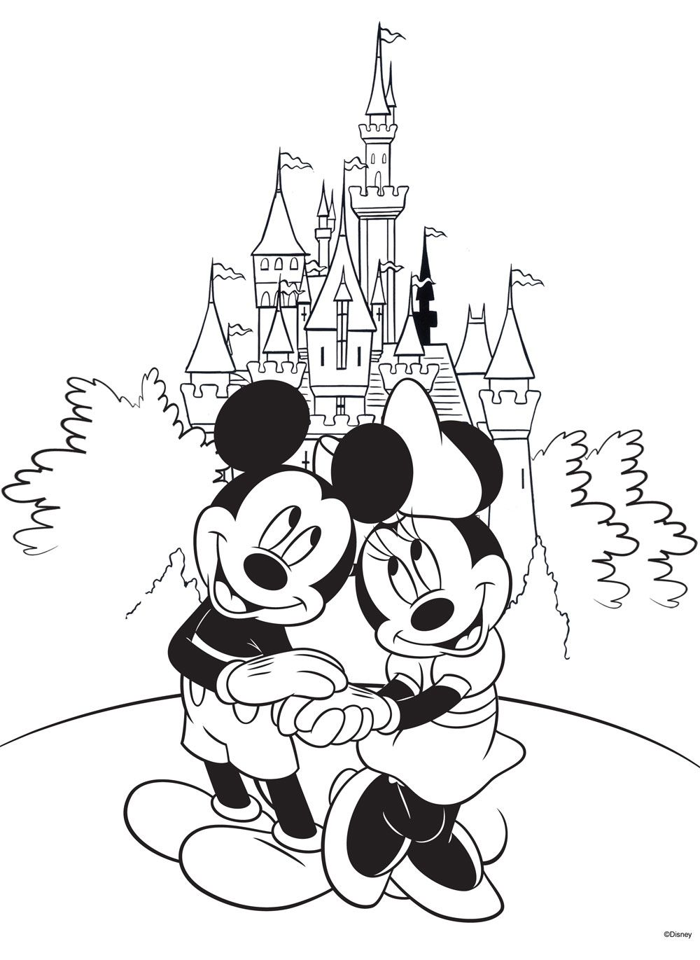 Free Disney Coloring Page! #Printable  Disney farben, Disney