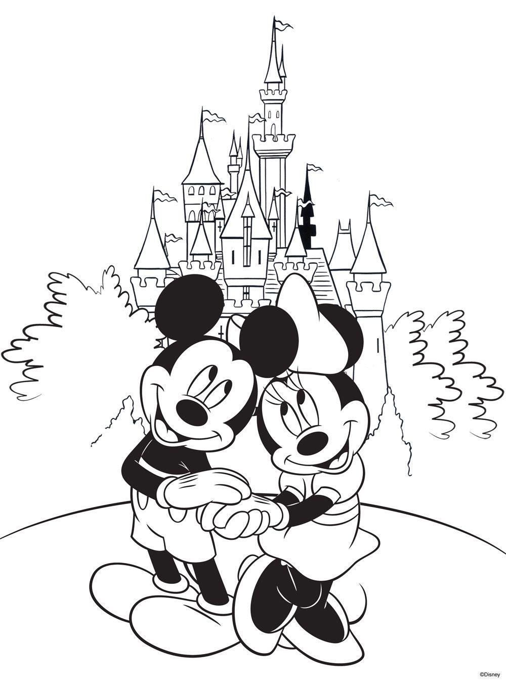 Free Disney Coloring Page! #Printable   Disney coloring ...   free online colouring pages disney