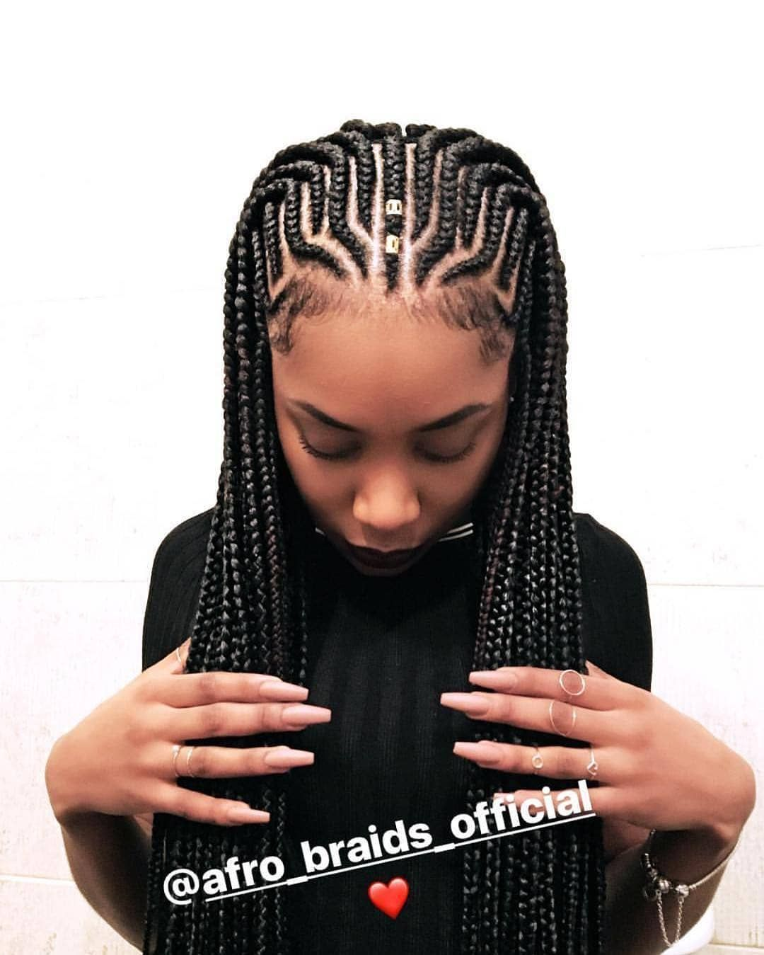 Pin på braids for black women