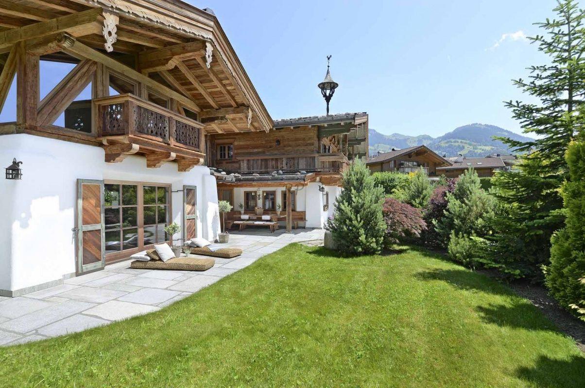 первые две фото ландшафтный дизайн домиков в швейцарии тех