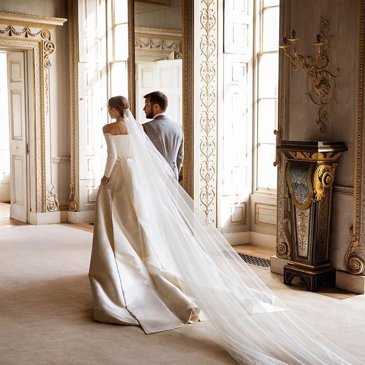 Wedding Gown For Parents: @theodorawarre's Parents Were Also Married At Uppark, And
