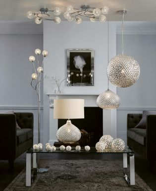 Buy Glamour 2 Light Table Lamp From The Next UK Online Shop