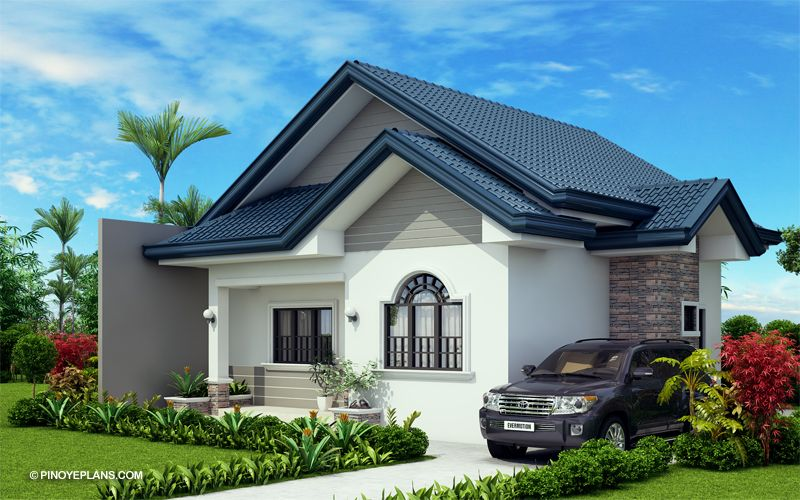 Obani Elegant Yet Affordable One Storey Single Attached Pinoy Eplans Beautiful House Plans Model House Plan Bungalow House Design