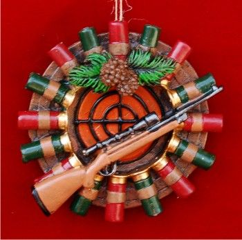 Target Practice Hunting Personalized Christmas Ornament Hunting Christmas Ornaments Personalized Christmas Ornaments Diy Christmas Ornaments